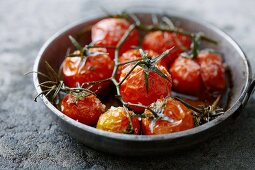 Roasted tomatoes with rosemary