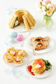 Easter dishes made using eggs