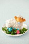 Coconut Easter lamb