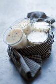 Blancmange (almond milk jelly) with coconut