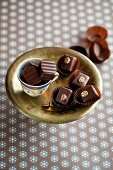 Espresso and lavender chocolates