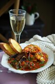Dish of Frutti Di Mare