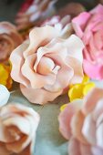 Edible Fondant Flowers for a Cake
