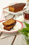 Sweet potato bread with nuts