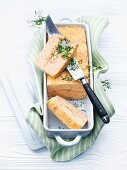 Salmon trout terrine with dill