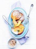 Quarkkeulchen (potato and quark cakes) from Saxony