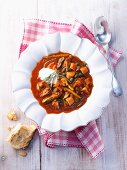 Solyanka (cappage soup, Eastern Europe)