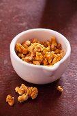 Nuts in mortar