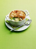 Individual Chicken Pot Pie with Phyllo Dough Crust