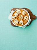 Baked Sweet Potato Puree wit Marshmallow