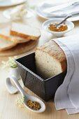 Elderflower bread