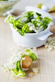 Elderflower bonbons