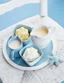 Fruitcake Sauces & Butter Creams