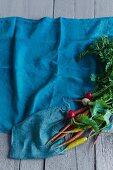 Carrots and radish