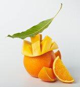 Mango and oranges