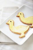 Lemon sable biscuits for Easter