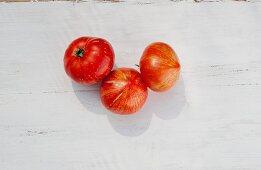 Tomatoes of the variety 'Feuerwerk'