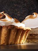 Whisky meringue pie