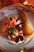 Lobster with puff pastry