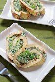 Omelette di ricotta e spinaci Caption-Abstract