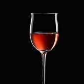 Glass of rosè wine, Italy, Europe