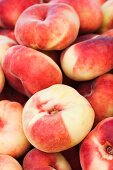 Organic Saturn Peaches from the Farmers Market