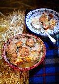 Sweet potato gratin