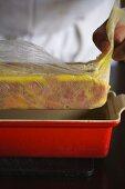 Chef Making Pate