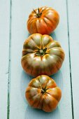 Three Marmande tomatoes