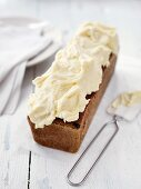 Gingerbread with cream cheese frosting