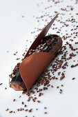 A chocolate eclair