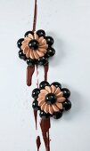 Schokoladenblumen mit Fleur de Sel