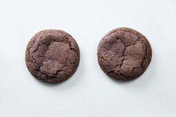 Two blackberry cookies