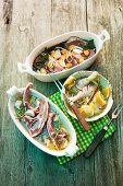Barbecue marinades for lamb, beef and poultry