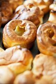 Freshly baked Yorkshire puddings (close-up)