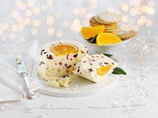 White Stilton with fruit