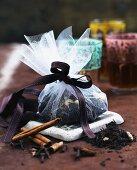 A spiced tea mixture as a gift