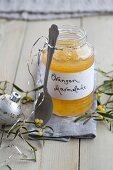 A jar of marmalade for Christmas