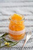 Mandarin jelly with Grand Marnier (Christmas)