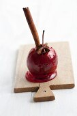 A spiced toffee apple for Christmas