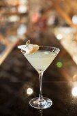 A pear cocktail