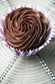Schokoladen-Ganache-Cupcake