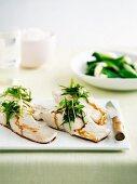 Steamed fish fillets