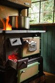 Antique cooker made by Jewel