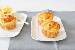 Potato muffins with cheese