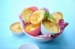 Celery cakes with cheese