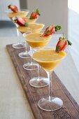 Mango cocktail