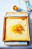 Lemon and ginger loaf cake