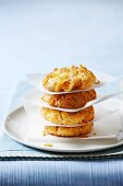 Cornflake cakes with ginger