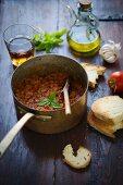 Pappa al pomodoro (tomato and bread soup, Italy)